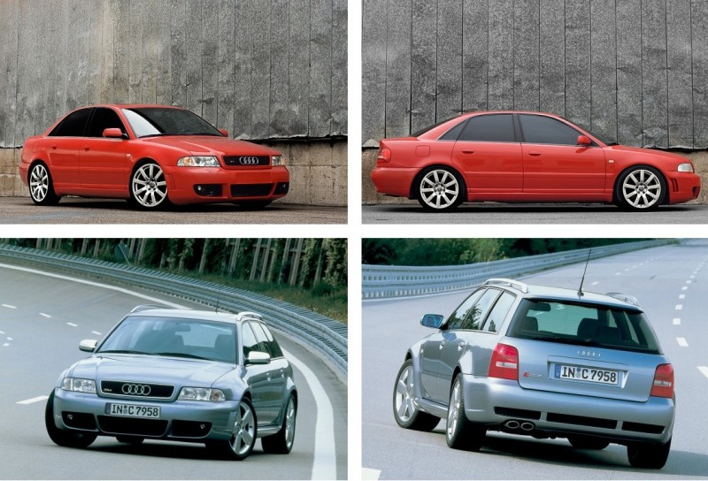 AUDI A4/S4/RS4 (B5) (1995-2001)VANIČKA DO KUFRA