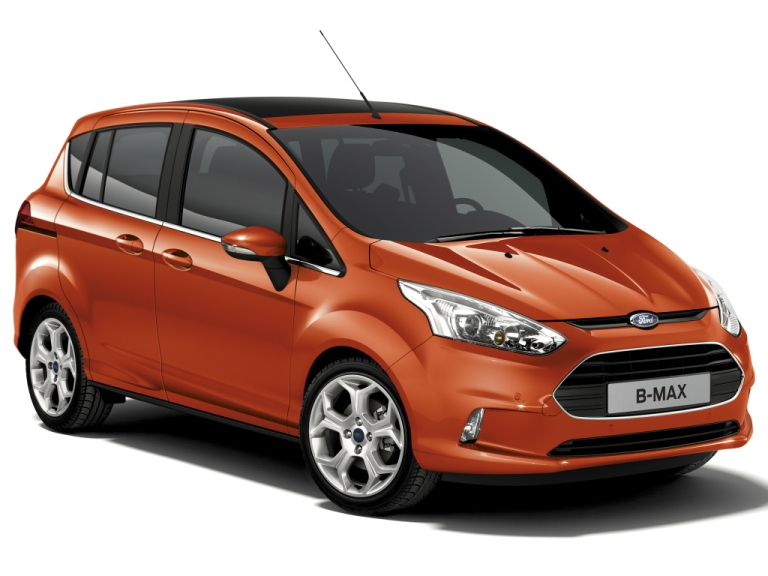 FORD B-MAX (2012-2018)VANIČKA DO KUFRA