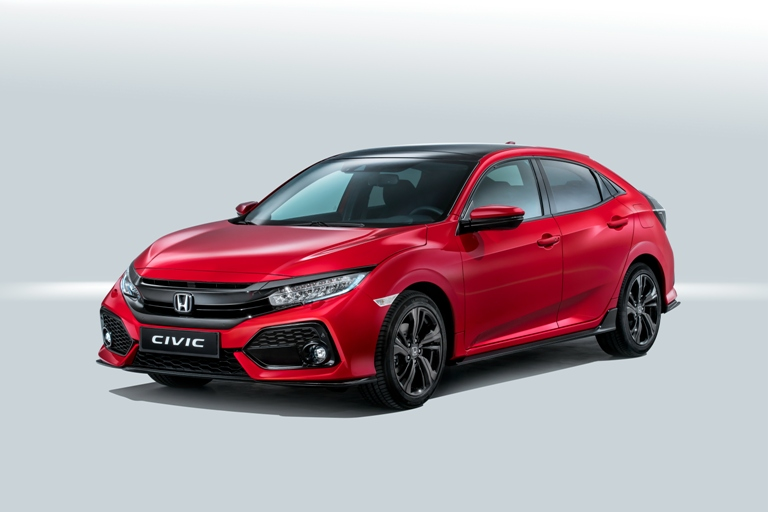 HONDA CIVIC (2017-) GUMENÉ AUTOKOBERCE