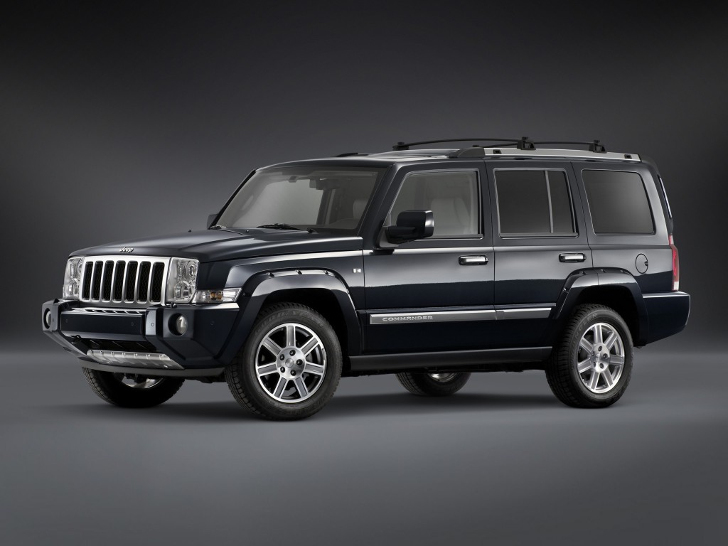 JEEP COMMANDER (2006-2010)VANIČKA DO KUFRA