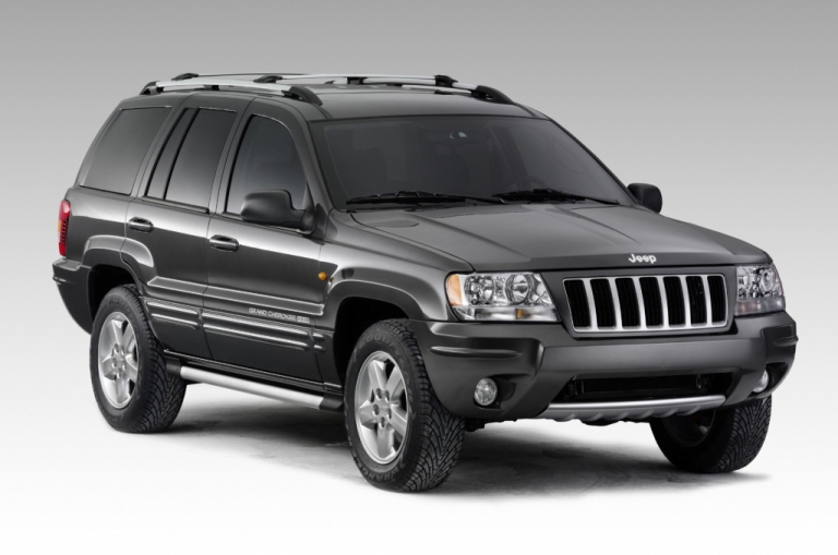 JEEP GRAND CHEROKEE (1998-2005)VANIČKA DO KUFRA