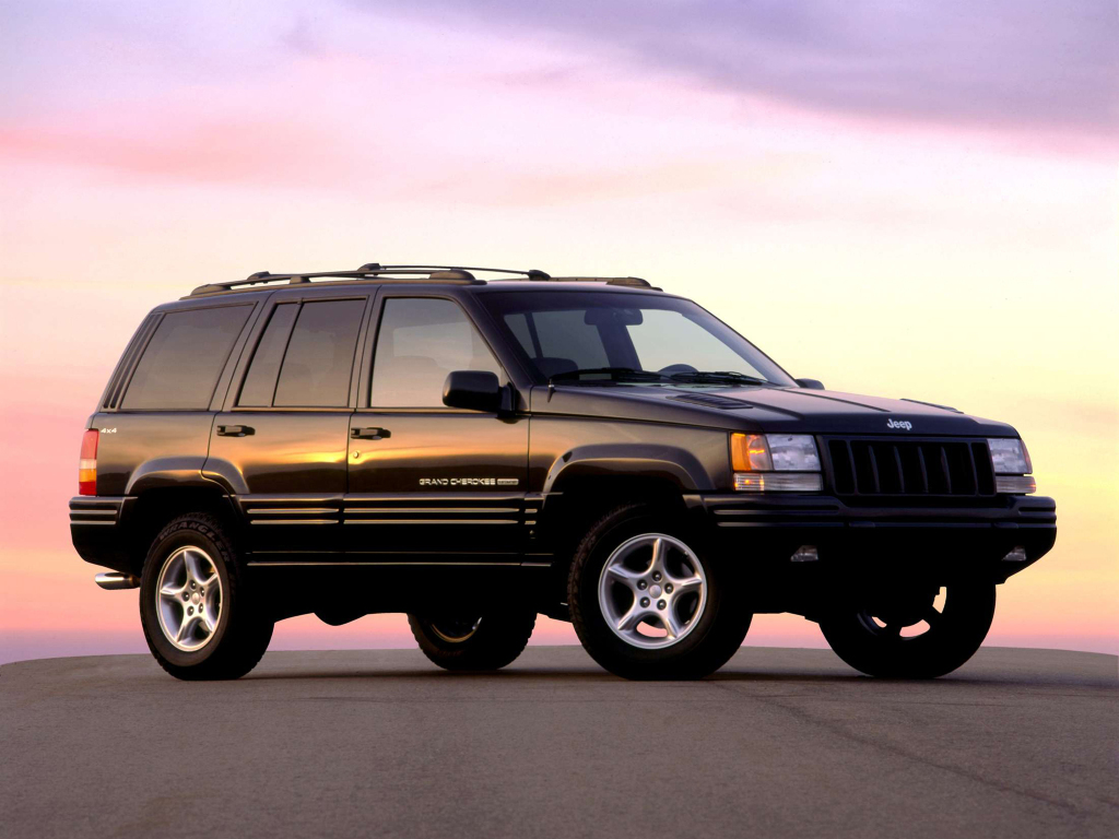 JEEP GRAND CHEROKEE (1993-1998) TEXTILNÉ AUTOKOBERCE
