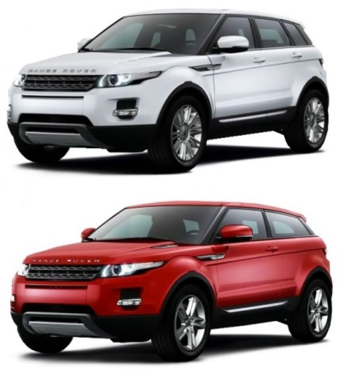 LAND ROVER EVOQUE (2011-2019)VANIČKA DO KUFRA