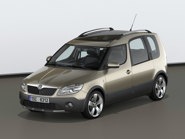 skoda roomster 2006 2015 vani ka do kufra. Black Bedroom Furniture Sets. Home Design Ideas